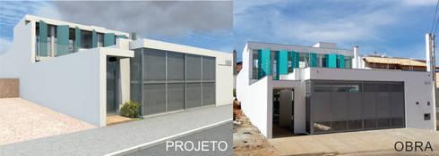 Casa Rua Romildo Morelli: Casas modernas por Sérgio Machado Arquitetura