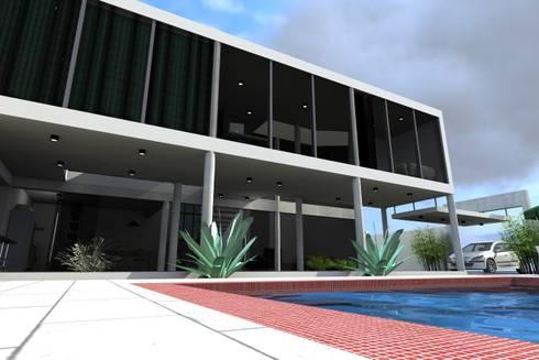 Loft:   por Sérgio Machado Arquitetura