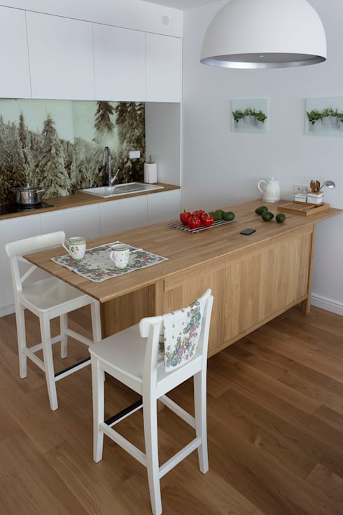 Kitchen by Jacek Tryc-wnętrza