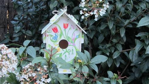 Casita Puzzle - Roleos: Jardín de estilo  de Decupach