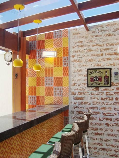 Terrazas de estilo  por Fernanda Marcondes Arquitetura &  Interiores