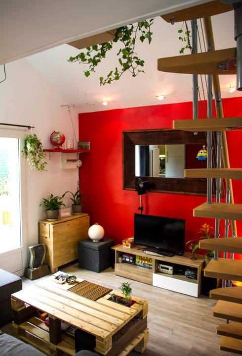 modern Living room by lmarchitectureinterieure