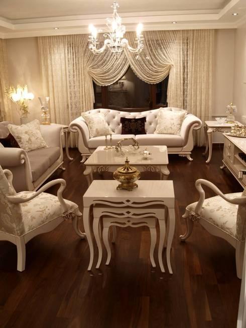 Sonmez Mobilya Avantgarde Boutique Modoko – Şehzade Salon Takımı: modern tarz Oturma Odası