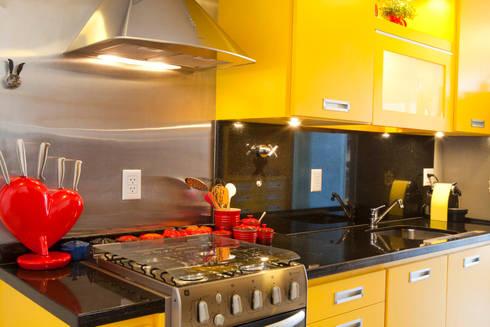Apartamento Vila Nova Conceição : Cozinhas modernas por Asenne Arquitetura