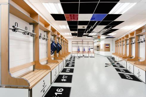 eishockey kabine jungadler mannheim mannheim deutschland de fifty fifty design homify. Black Bedroom Furniture Sets. Home Design Ideas