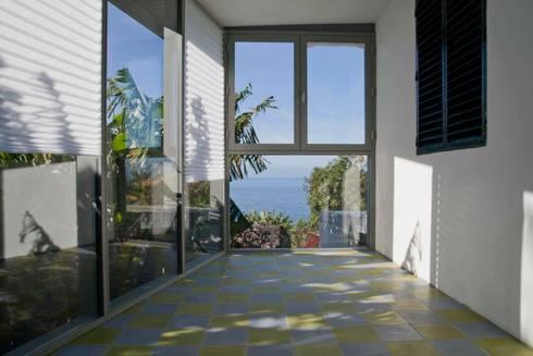 Winter Garden: Jardins de Inverno modernos por Mayer & Selders Arquitectura
