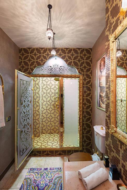 Квартира: Ванные комнаты в . Автор – Postformula