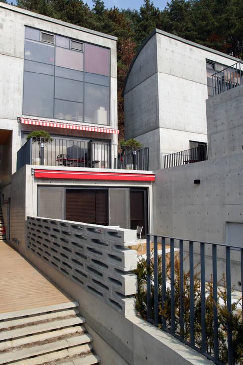 포천 돌체비타 펜션 (Dolce bita pension): archim architects의