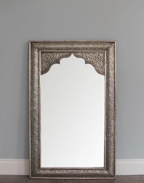 Items for sale moroccan mirrors by moroccan bazaar homify for Silver long mirror