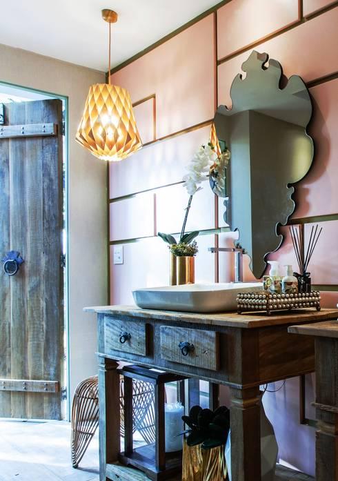 Baños de estilo  por Orlane Santos Arquitetura