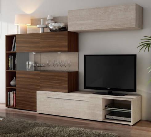Muestrario de muebles para el hogar de muebles sarria homify - Muebles para el hogar ...