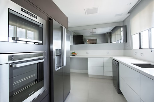 projeto  FT : Cozinhas minimalistas por Camila Bruzamolin - arquitetura