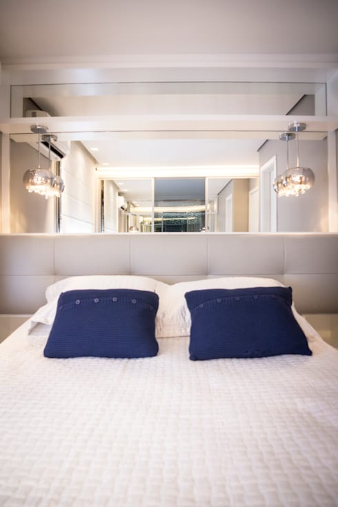 Dormitorios de estilo moderno por Joana & Manoela Arquitetura