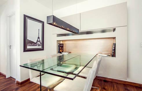 projeto |RD|: Salas de jantar modernas por Camila Bruzamolin - arquitetura
