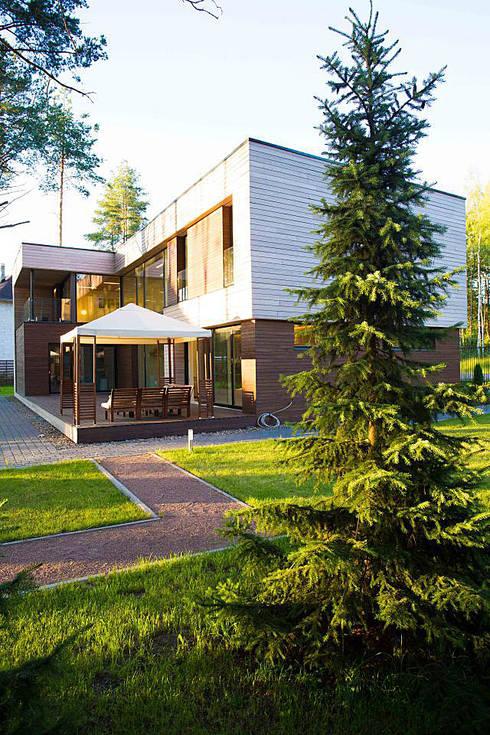 Casas  por ALEXANDER ZHIDKOV ARCHITECT