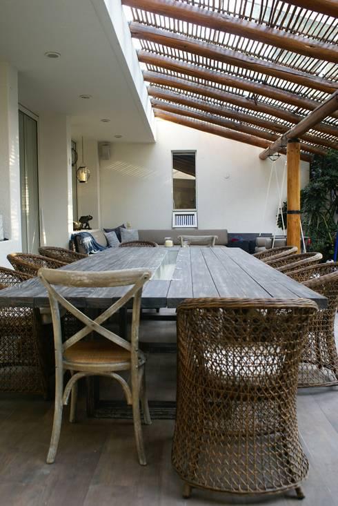 Terraza:  de estilo  por Jacobs Interiorismo