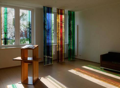 amalie sieveking krankenhaus raum der stille hamburg von glasgestaltung in der architektur. Black Bedroom Furniture Sets. Home Design Ideas