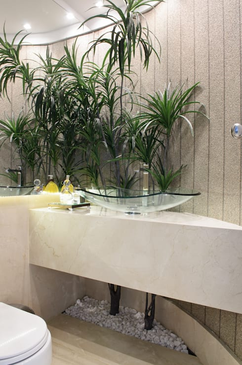 LAVABO: Banheiros modernos por criarprojetos | ARQUITETURA . INTERIORES . ENGENHARIA