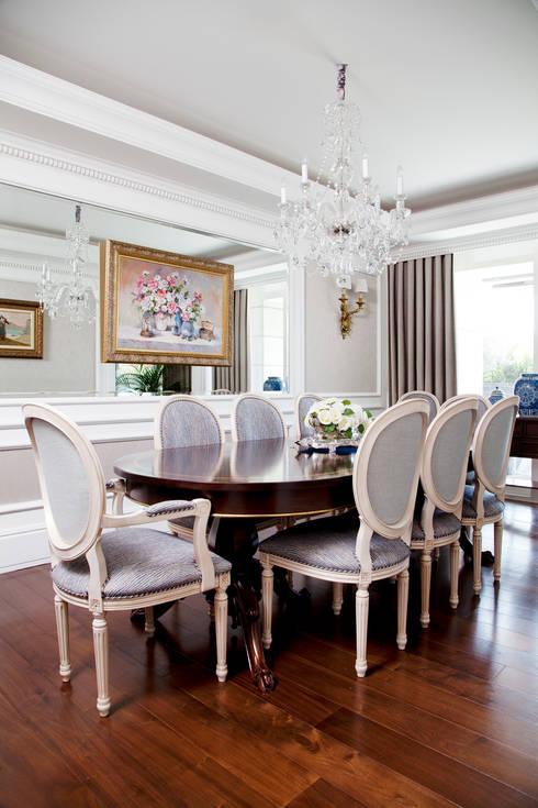 Kerim Çarmıklı İç Mimarlık – Çubukluvadi Evi :  tarz Yemek Odası