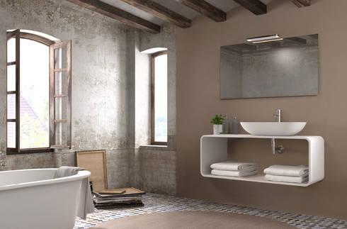 Mueble Essence C : Baños de estilo moderno de Astris