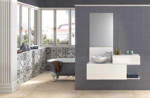 Mueble de baño Vintage: Baños de estilo moderno de Astris