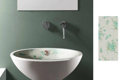 Lavabo baño Vintage 3: Baños de estilo moderno de Astris