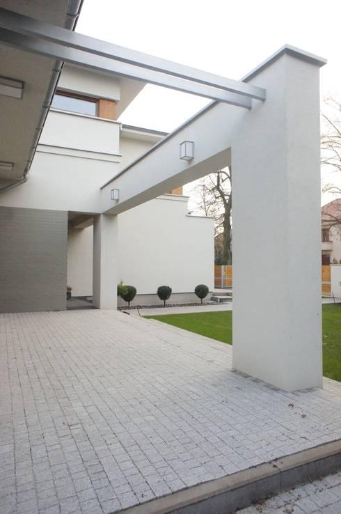 Дома в . Автор – Sasiak - Sobusiak Pracownia Projektowa