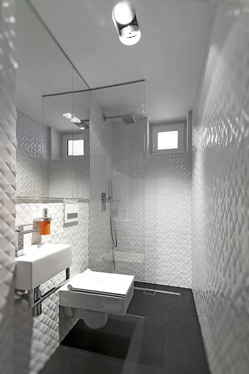 modern Bathroom by Neostudio Architekci
