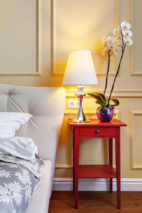 Яркий, сложный, всеми любимый Ход Конем: Спальни в . Автор – U-Style design studio