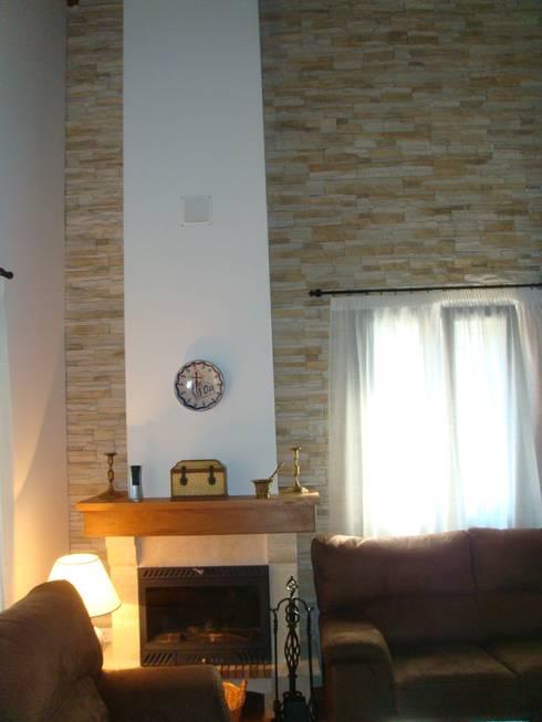 Salas de estilo rural por MODULAR HOME