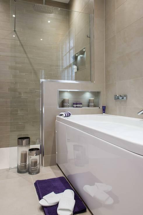 Raycross Interiors:  tarz Banyo