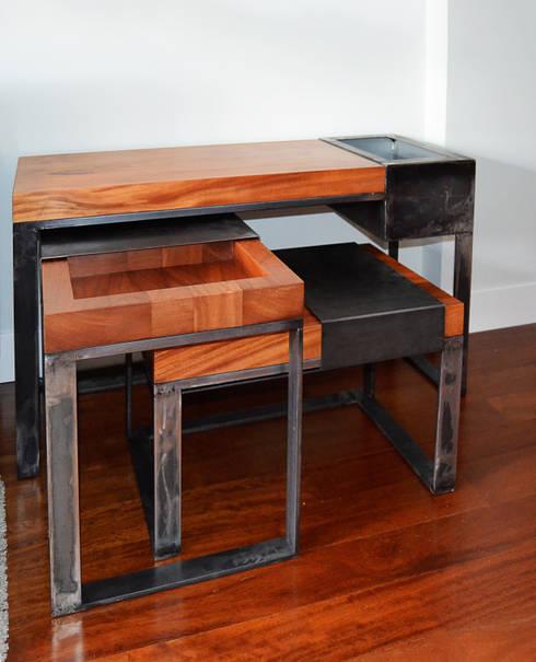 ACA.Alfonso Cort Arquitecto:  tarz Oturma Odası