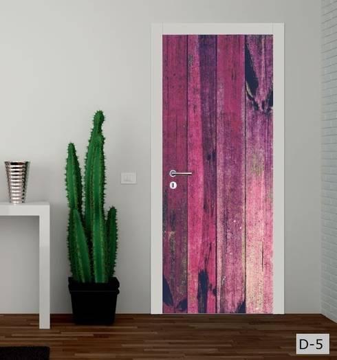 Ventanas y puertas de estilo  por Inoutprint