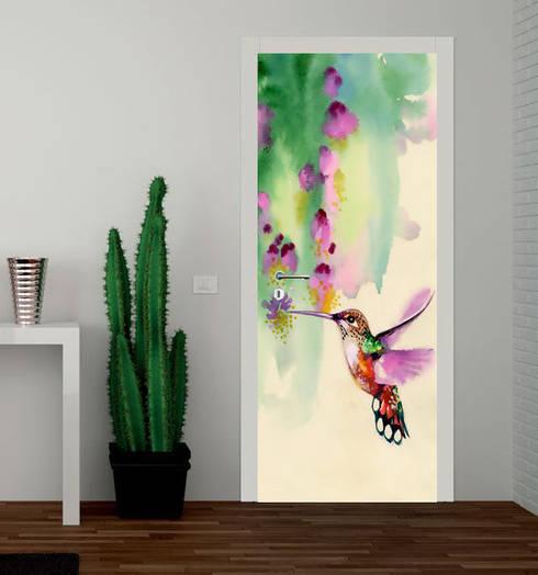 Puertas y ventanas de estilo tropical de Inoutprint