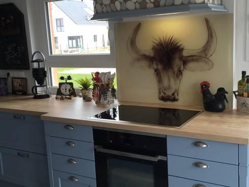 glas küchenrückwand mit motiv für landhausküche by rw lifestyle, Esszimmer