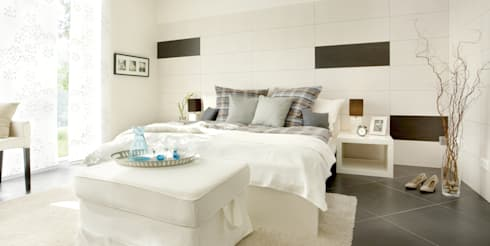 wundersch ne schlafzimmer von fliesenmax gmbh co kg homify. Black Bedroom Furniture Sets. Home Design Ideas
