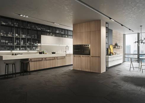 Cocinas y Grifería de Diseno: Cocinas de estilo moderno por MOVE ARGENTINA
