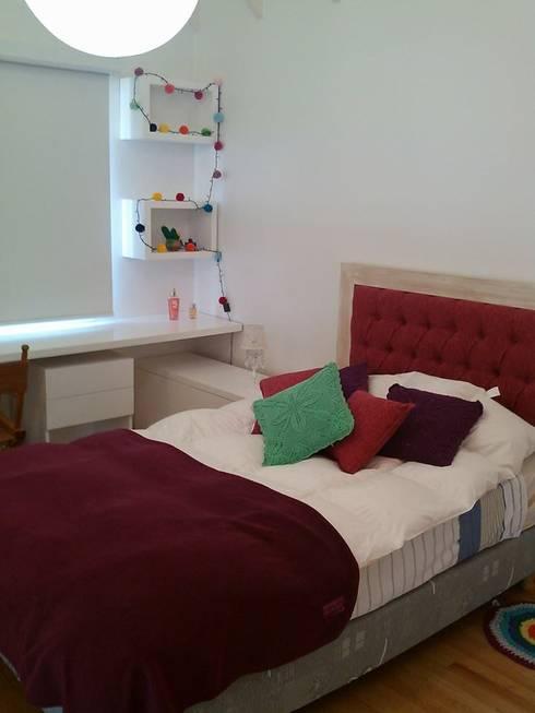 Arquitectura de interiores: Dormitorios: Dormitorios de estilo moderno por rl.decoarq