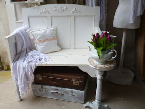vintage bank shabby chic von kunstwerkstatt homify. Black Bedroom Furniture Sets. Home Design Ideas