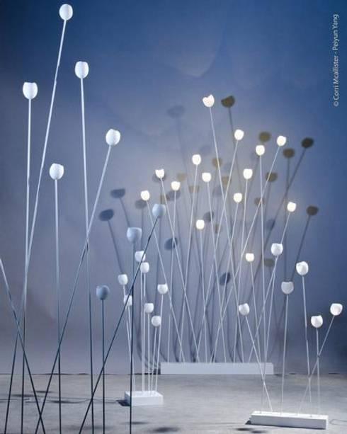 luminaire lice: Salon de style de style eclectique par filomele