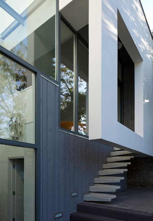 Cut & Fold: modern Houses by Ashton Porter architects