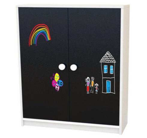 Armario Bajo Infantil Pizarrín 2 puertas con Pizarra: Habitaciones infantiles de estilo  de Decodecoracion