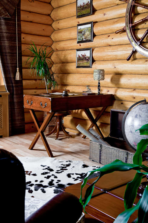 Amazing Studio Светланы Панариной의  거실