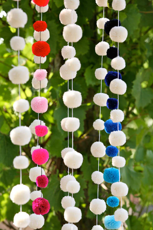 Jardines de estilo  por PomPom Galore