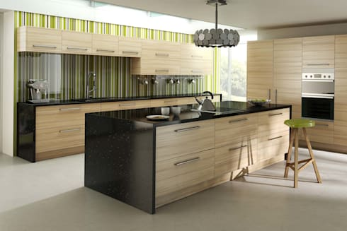 dm design kitchens von dm design homify. Black Bedroom Furniture Sets. Home Design Ideas