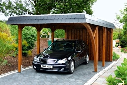 carports door hmg benelux homify. Black Bedroom Furniture Sets. Home Design Ideas