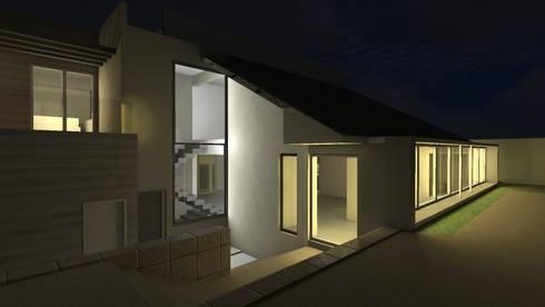 Residência L + V: Casas ecléticas por eduardopetry