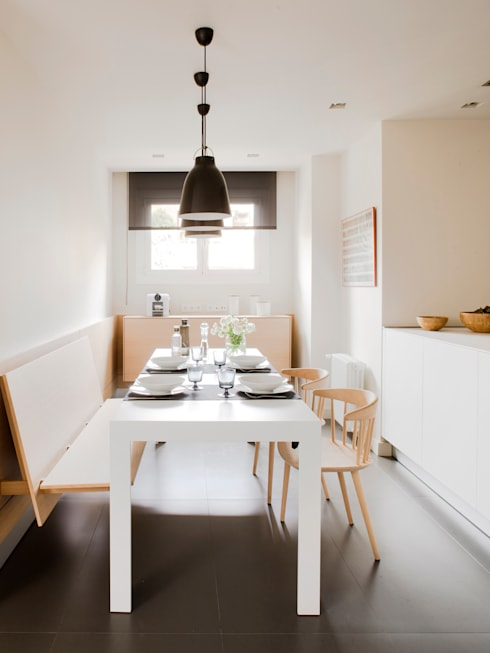 minimalistic Kitchen by A! Emotional living & work