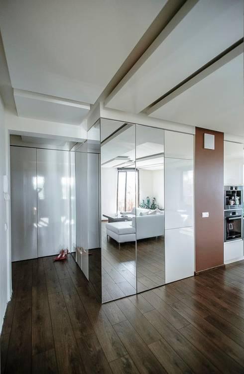 Apartament Prokocim Kraków: styl , w kategorii Korytarz, przedpokój zaprojektowany przez Novi art