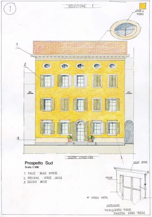 Дома в . Автор – Studio Tecnico Fanucchi